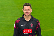 Head shot.  Steve Davies wearing the Somerset Royal London One-Day Cup kit at the media day at Somerset County Cricket Club at the Cooper Associates County Ground, Taunton, United Kingdom on 11 April 2018. Picture by Graham Hunt.