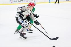 JakaSodja of HDD Jesenice during Ice Hockey match between HK SZ Olimpija Ljubljana and HDD Jesenice in Round #24 of Alps Hockey League, on December 22, 2018 in Hala Tivoli, Ljubljana, Slovenia. Photo by Ziga Zupan / Sportida