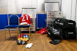 General View in the Bristol City dressing room - Rogan/JMP - 06/11/2020 - Cardiff City Stadium - Cardiff, Wales - Cardiff City v Bristol City - Sky Bet Championship.