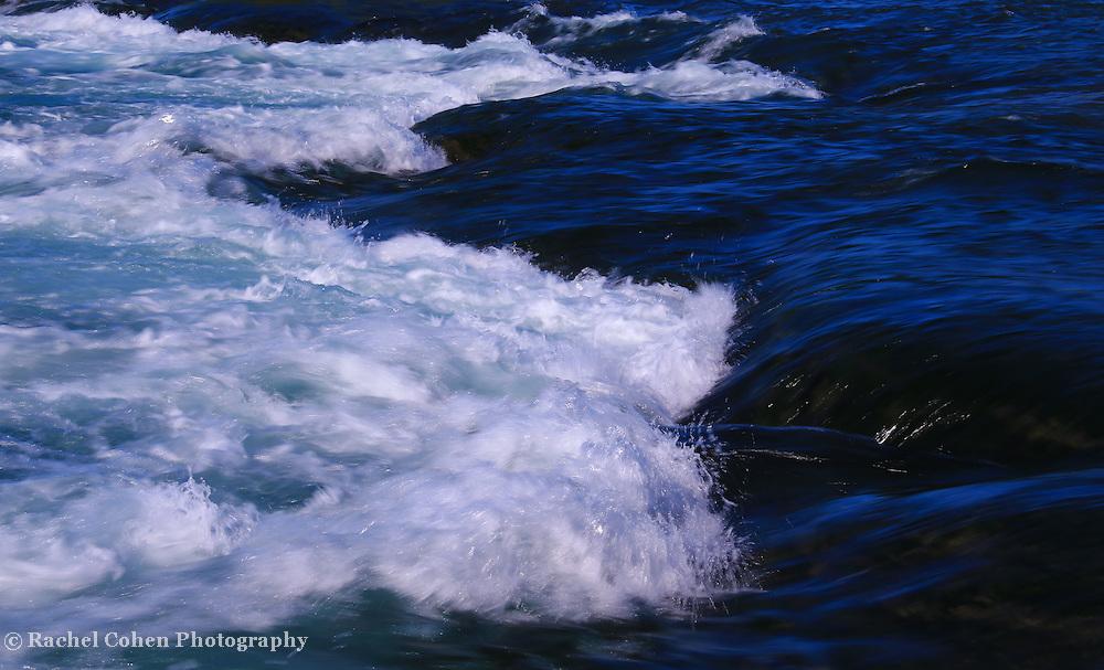 """Light Splash""2<br /> <br /> Deep blue waters of Niagara Falls meets the edge!A beautiful blue abstract!"