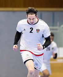 07.01.2017, BSFZ Suedstadt, Maria Enzersdorf, AUT, IHF Junior WM 2017 Qualifikation, Österreich vs Tschechische Republik, im Bild Philipp Seitz (AUT) // during the IHF Men's Junior World Championships qualifying match between Austria and Czech Republic at the BSFZ Suedstadt, Maria Enzersdorf, Austria on 2017/01/07, EXPA Pictures © 2017, PhotoCredit: EXPA/ Sebastian Pucher