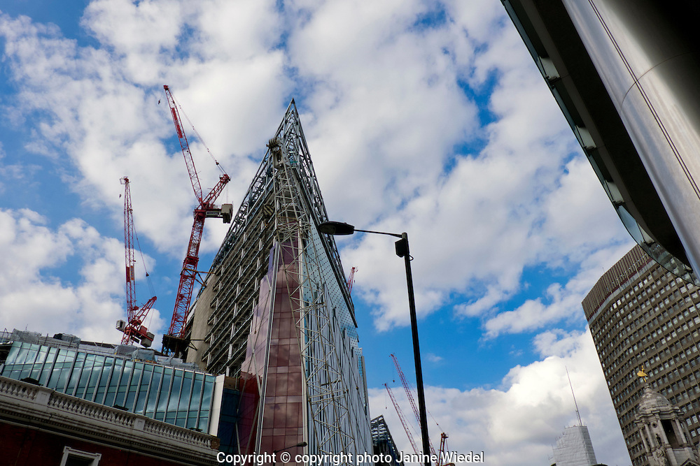 Land Securities development & building works in Victoria Street Central London