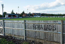 Windsor, UK. 11 July, 2020. The Stag Meadow ground of Windsor FC. Windsor FC was formed in 2011 following the demise of Windsor & Eton FC, which had been granted land for sport by George V one hundred years earlier in 1911.