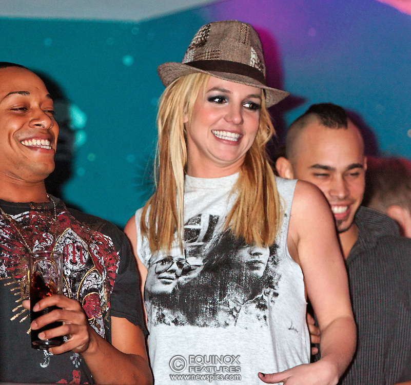 London, United Kingdom - 30 November 2008.Britney Spears disappears at G-A-Y club, at Heaven nightclub, Charing Cross, London, UK.Having performed earlier on X-Factor TV show despite suffering from nerves before appearing, she turned up at G-A-Y gay club at Heaven, London, UK. After arriving at 1.15am it was said she had a panic attack and was unable to take to the stage despite 1500 fans calling out Britney! Britney!.. The closest fans came to seeing their idol was a glimpse of her on the VIP balcony receiving a birthday cake for her 27th birthday which is on the 2 December. Fans had queued round the block all evening outside the club in the hope of seeing her..(photo by: EDWARD HIRST/EQUINOXFEATURES.COM)..Picture Data:.Photographer: EDWARD HIRST.Copyright: ©2008 Equinox Licensing Ltd. - +448700 780000.Contact: Equinox Features.Date Taken: 20081130.Time Taken: 023758+0000.www.newspics.com