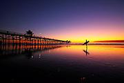 San Clemente Pier At Dusk