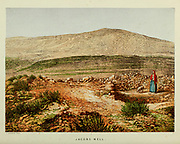 Jacob's Well from the book Scenes in the East : consisting of twelve coloured photographic views of places mentioned in the Bible, with descriptive letter-press. By Tristram, H. B. (Henry Baker), 1822-1906; Published by the Society for Promoting Christian Knowledge (Great Britain) in London in 1872