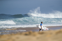 December 11, 2017 - Haleiwa, Hawaii, U.S. - Conner Coffin of the USA advances directly to Round Three of the 2017 Billabong Pipe Masters after winning Heat 3 of Round One at Pipe, Oahu, Hawaii, USA...Billabong Pipe Masters 2017. (WSL via ZUMA Wire/ZUMAPRESS.com)