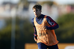 Nicolas Tagliafico of Ajax during a training session of Ajax Amsterdam at the Cascada Resort on January 08, 2018 in Lagos, Portugal