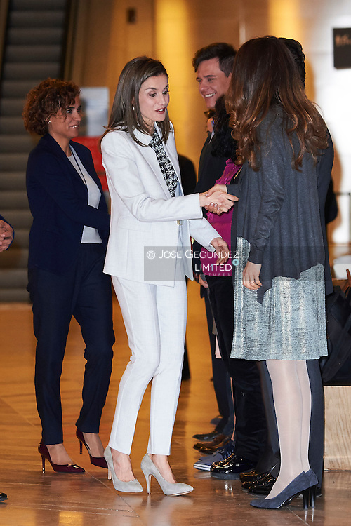 Queen Letizia of Spain attends the Rare Diseases World Day Event at Prado Museum on March 2, 2017 in Madrid, Spain.