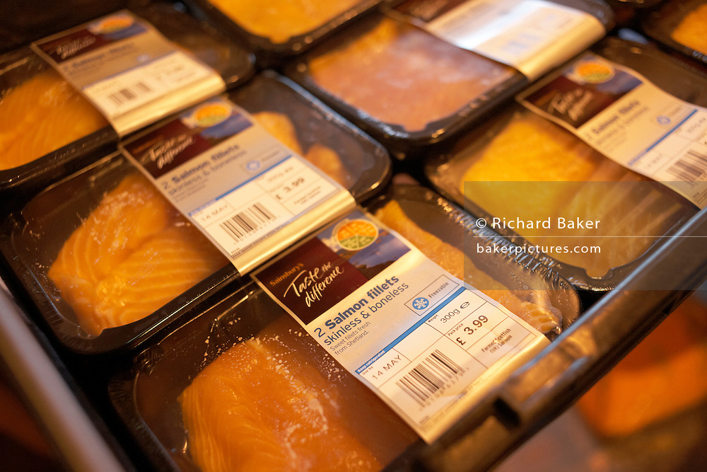 Salmon progresses through real-time ordering and delivery technology at Sainsbury's 700,000 sq ft distribution depot