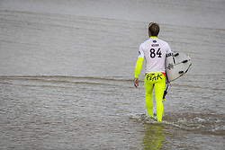 October 12, 2017 - Josh Kerr (AUS) Placed 3rd in Heat 3 of Round One at Quiksilver Pro France 2017, Hossegor, France..Quiksilver Pro France 2017, Landes, France - 12 Oct 2017 (Credit Image: © WSL via ZUMA Press)