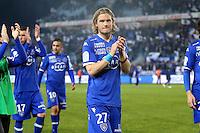 Supporters de Bastia / Guillaume GILLET - 07.03.2015 -  Bastia / Nice -  28eme journee de Ligue 1 <br />Photo : Michel Maestracci / Icon Sport