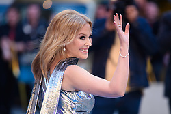 Kylie Minogue arriving for Royal Academy of Arts Summer Exhibition Preview Party 2019 held at Burlington House, London. Picture date: Tuesday June 4, 2019. Photo credit should read: Matt Crossick/Empics. EDITORIAL USE ONLY.