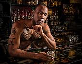 Dave & Connor - bar-themed portraits