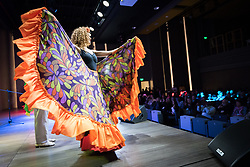 """26 April 2018, Bogotá, Colombia: The Global Christian Forum gathers in Bogotá on 24-27 April 2018 under the theme of """"Let mutual love continue"""". Colombia cultural evening, with Colombian music and dance."""