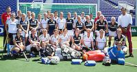 DEN HAAG - hockey- wedstrijd tussen de ZwarteTulpen en een Rabobank team. COPYRIGHT KOEN SUYK