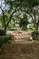 Praça José João Grando (Praça da Igreja Matriz). São José do Cedro, Santa Catarina, Brasil. / <br /> José João Grando Square (Mother Church Square). São José do Cedro, Santa Catarina, Brazil.