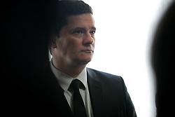 March 27, 2019 - BrasíLia, Brazil - BRASÍLIA, DF - 27.03.2019: MINISTRO SERGIO MORO NA CCJ SENADO - Minister Sergio Moro attends a hearing on the Constitution and Justice Commission of the Federal Senate this morning, 27. (Credit Image: © Myke Sena/Fotoarena via ZUMA Press)