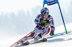 PINTURAULT Alexis of France competes during the Audi FIS Alpine Ski World Cup Men's Giant Slalom 58th Vitranc Cup 2019 on March 9, 2019 in Podkoren, Kranjska Gora, Slovenia. Photo by Matic Ritonja / Sportida