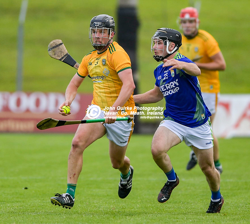 James Kelly,  in action for Meath,  during the Meath v Kerry,  Joe McDonagh Cup match at Pairc Tailteann, Navan.<br /> <br /> Photo: GERRY SHANAHAN-WWW.QUIRKE.IE<br /> <br /> 10-07-2021