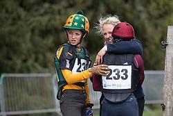 Sutherland Jef, BEL, Sutherland Julie, BEL<br /> Nationaal Kampioenschap Eventing Minderhoud 2018<br /> © Hippo Foto - Dirk Caremans