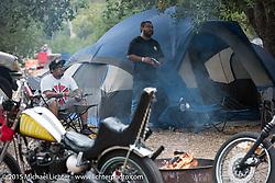 Camping at O'Neill Regional Park during Born Free-7. Silverado, CA. USA. Saturday, June 27, 2015.  Photography ©2015 Michael Lichter.