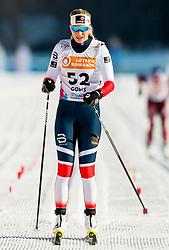 January 31, 2018 - Goms, SWITZERLAND - 180131 Lovise Heimdal of Norway crosses the finish line in the women's 10km classic technique interval start during the FIS U23 Cross-Country World Ski Championships on January 31, 2018 in Obergoms..Photo: Vegard Wivestad GrÂ¿tt / BILDBYRN / kod VG / 170090 (Credit Image: © Vegard Wivestad Gr¯Tt/Bildbyran via ZUMA Press)