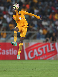 Willard Katsande of Kaizer Chiefs during the 2016 Premier Soccer League match between Kaizer Chiefs and Baroka FC held at the Moses Mabhida Stadium in Durban, South Africa on the 2nd November 2016<br /> <br /> Photo by:   Steve Haag / Real Time Images