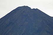 Ecuador, May 20 2010: View of the summit of Sumaco volcano from road leading to Wild Sumaco. Copyright 2010 Peter Horrell