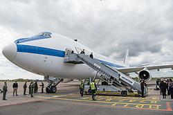 Secretary of Defense Jim Mattis arrives in Copenhagen, Denmark, May 8, 2017. (DOD photo by U.S. Air Force Staff Sgt. Jette Carr)