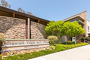 Stone Monument Signage of Mission Viejo City Hall