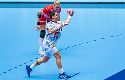 Alexandra Lacrabere of France in action during the Women's EHF Euro 2020 match between France and Russia at Jyske Bank BOXEN on december 11, 2020 in Kolding, Denmark (Photo by RHF Agency/Ronald Hoogendoorn)