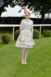 ELEANOR TOMLINSON at the Investec Derby at Epsom Racecourse, Epsom, Surrey on 4th June 2016.
