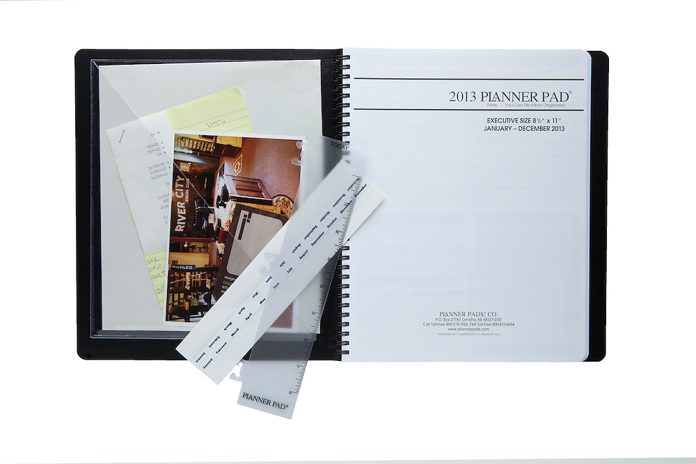 03 August 2012-  New product shots are taken at minorwhite studios for Planner Pads..