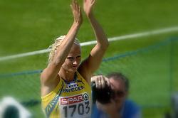08-08-2006 ATLETIEK: EUROPEES KAMPIOENSSCHAP: GOTHENBORG <br /> Carolina Kluft wint de meerkamp (SWE)<br /> ©2006-WWW.FOTOHOOGENDOORN.NL