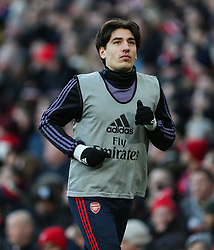 Hector Bellerin of Arsenal returned to the squad - Mandatory by-line: Arron Gent/JMP - 18/01/2020 - FOOTBALL - Emirates Stadium - London, England - Arsenal v Sheffield United - Premier League