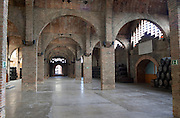 Storage and festivites hall. Codorniu, Sant Sadurni d'Anoia, Penedes, Catalonia, Spain