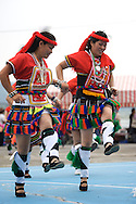 These dancers are from a local aboriginal  tribe called the Amis near Xindian, Taiwan.