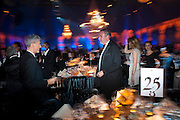 PATRICK COX; WILLIAM CASH, Grey Goose character and cocktails. The Elton John Aids Foundation Winter Ball. off Nine Elms Lane. London SW8. 30 October 2010. -DO NOT ARCHIVE-© Copyright Photograph by Dafydd Jones. 248 Clapham Rd. London SW9 0PZ. Tel 0207 820 0771. www.dafjones.com.