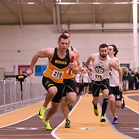 Kyle Borsa in action during the 2018 Canada West Track & Field Championship on February  24 at James Daly Fieldhouse. Credit: Arthur Ward/Arthur Images