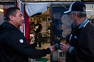 Deported U.S. Army and Vietnam War veteran Jose Francisco Lopez Moreno, 73, center, stands inside the Deported Veterans Support House in Tijuana, Baja California, México, Friday, April 13, 2018.<br /> <br /> Lopez Moreno was drafted to the U.S. Army and deployed to Vietnam from 1968 to 1969 serving in combat even though he did not speak a word of English. Latino veterans in his unit would translate for him during his time in the service. He was assigned to work in transportation and at night he would be on guard duty at a helicopter base in Vietnam where he also performed rescue missions when helicopters were shot down.<br /> <br /> Twenty six years after his military discharge, Lopez Moreno was arrested in a hotel room in Wichita Falls, Texas. He was caught purchasing cocaine from a police officer and was charged with intent to purchase and distribute narcotics in 1995. He was sentenced to nine years in prison and served eight years behind bars with a one year reduction for good conduct. In 2003, he was deported to Mexico because the crime he was sentenced for is considered an aggravated felony—a deportable offense for a green card holder.