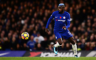 Tiemoue Bakayoko of Chelsea in action .Premier league match, Chelsea v Manchester United at Stamford Bridge in London on Sunday 5th November 2017.<br /> pic by Andrew Orchard sports photography.