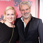 NLD/Amsterdam/20191031 - Ghost Stories premiere, Wieneke Remmers en partner Rein Kolpa