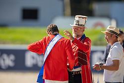 Verlooy Jos, Cebulka Pedro, Bruyninx Frederick<br /> European Championship Riesenbeck 2021<br /> © Hippo Foto - Dirk Caremans<br /> 03/09/2021