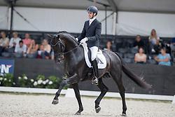 Maljaars Benjamin, NED, Glamourdale<br /> World Championship Young Dressage Horses <br /> Ermelo 2016<br /> © Hippo Foto - Dirk Caremans<br /> 28/07/16