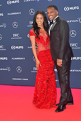 February 18, 2019 - Monaco, Monaco - Briana Williams and Ato Boldon arriving at the 2019 Laureus World Sports Awards on February 18, 2019 in Monaco  (Credit Image: © Famous/Ace Pictures via ZUMA Press)