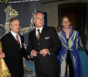 Dirk Burghardt, Prof. Dr. Martin Roth and Kathrin Hasskamp. The opening of ' Princely Spendour: The Dresden Court 1580-1620' The Gilbert Collection, Somerset House. London. 8 June 2005. ONE TIME USE ONLY - DO NOT ARCHIVE  © Copyright Photograph by Dafydd Jones 66 Stockwell Park Rd. London SW9 0DA Tel 020 7733 0108 www.dafjones.com