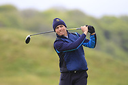 Giovanni Siani (Circolo Golf Villa d'Este)(ITA) on the 18th tee during Round 3 of the Ulster Boys Championship at Donegal Golf Club, Murvagh, Donegal, Co Donegal on Friday 26th April 2019.<br /> Picture:  Thos Caffrey / www.golffile.ie