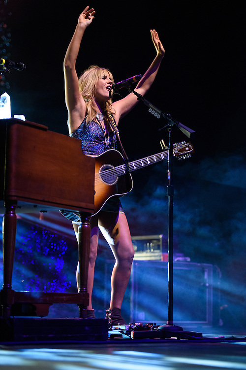 Photos of Grace Potter performing live at Radio City Music Hall, NYC. October 3, 2015. Copyright © Matthew Eisman. All Rights Reserved