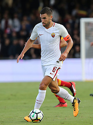 September 20, 2017 - Benevento, Campania, Italy - Kevin Strootman of AS Roma during the Serie A match between Benevento Calcio and AS Roma at Stadio Ciro Vigorito on September 20, 2017 in Benevento, Italy.  (Photo by Gabriele Maricchiolo/NurPhoto) (Credit Image: © Gabriele Maricchiolo/NurPhoto via ZUMA Press)